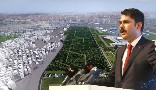 Atatürk Havalimanı'nın tamamı Millet Bahçesi olacak!