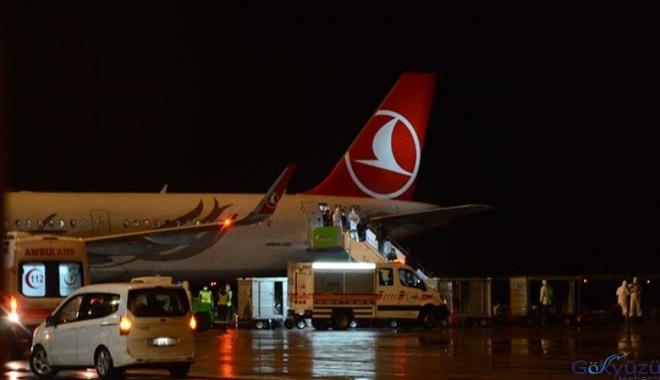 Azerbaycan'dan 181 Türk vatandaşı Ordu'ya geldi