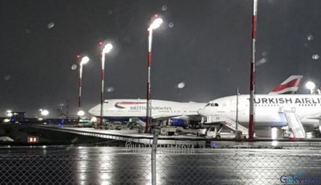 BA uçağı hâlâ İstanbul Havalimanı'nda