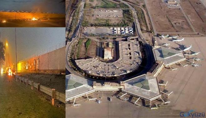 Bağdat Havalimanı'nda patlamalar meydana geldi