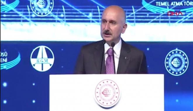 Bakan Kanal İstanbul temel atma töreninde konuştu#video