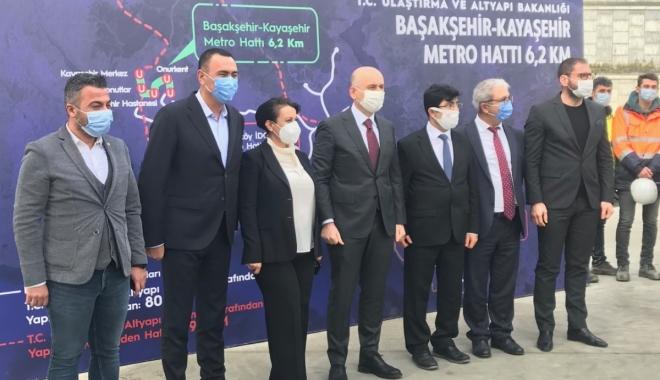 Başakşehir-Çam ve Sakura Hastanesi-Kayaşehir Metro (video)