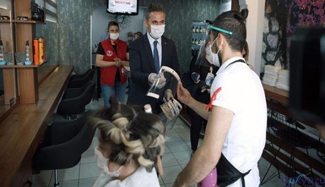 Başkan Köse'den maske denetimi