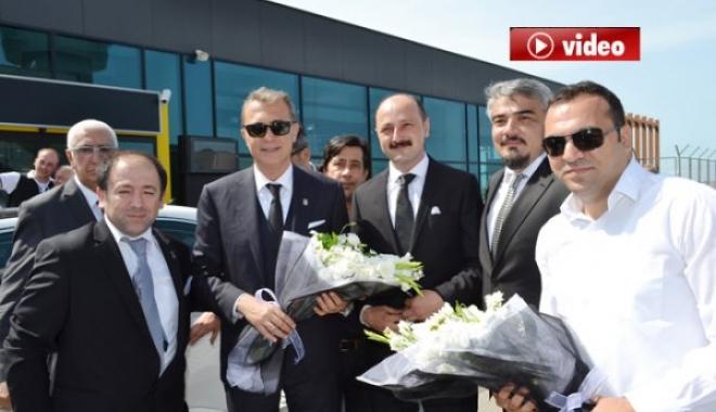 Beşiktaş Başkanı Fikret Orman, Ordu'da video