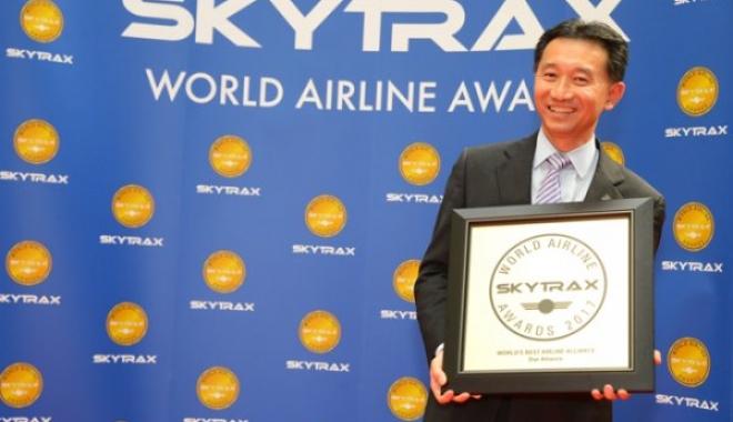 Best Allıance Tıtle At Ssytrax World Aırlıne Award