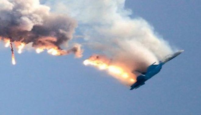 Bir Rus uçağı daha düştü...