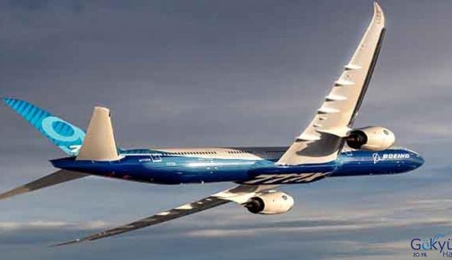 Boeing 777X'i hiç görülmemiş birkaç fotoğraf