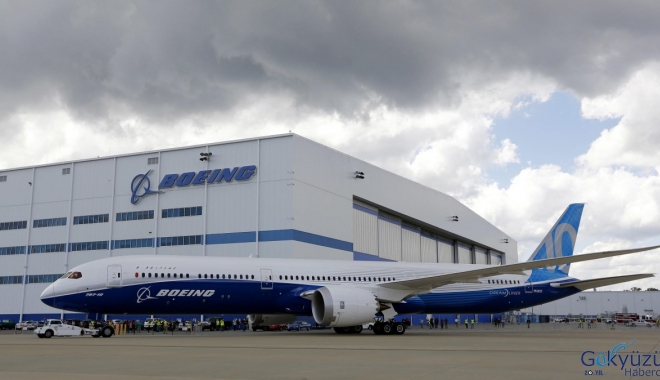 Boeing, Güney Carolina'daki 787 Operasyonu Geçici Olarak Askıya Alıyor