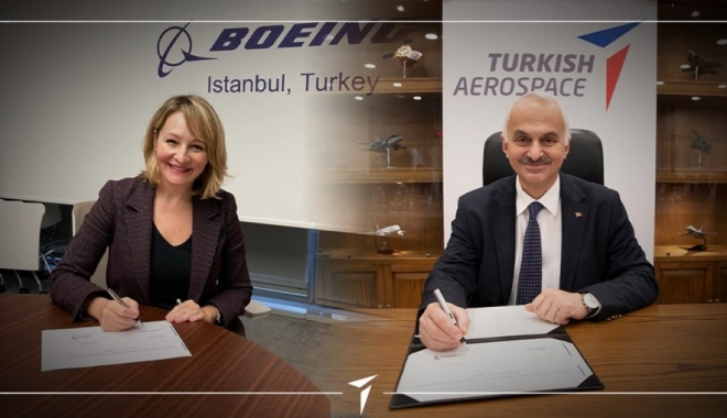 Boeing ve TUSAŞ arasında anlaşma: Türkiye'de üretilecek