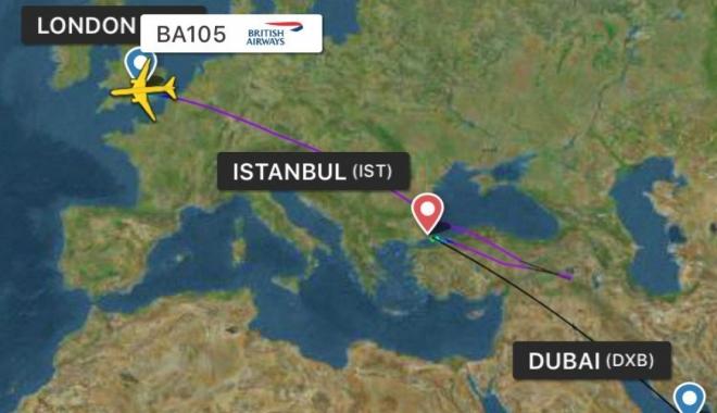 British Airways uçakları İstanbul Havalimanı'na indi
