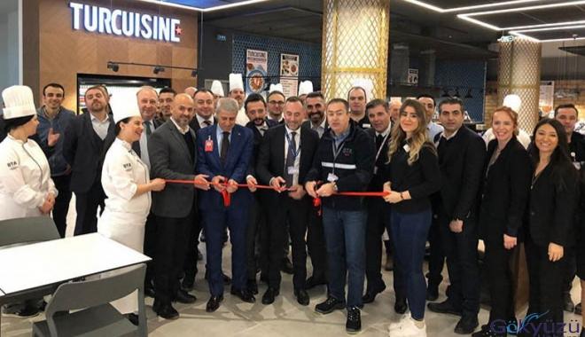 BTA İstanbul Havalimanı'nda Turcuisine'i de açtı!