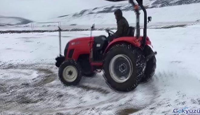 Bu da traktörlü drift