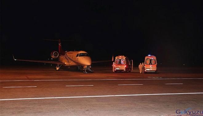 Bu gece Covid-19 hastalarının Türkiye'ye nakli başladı!