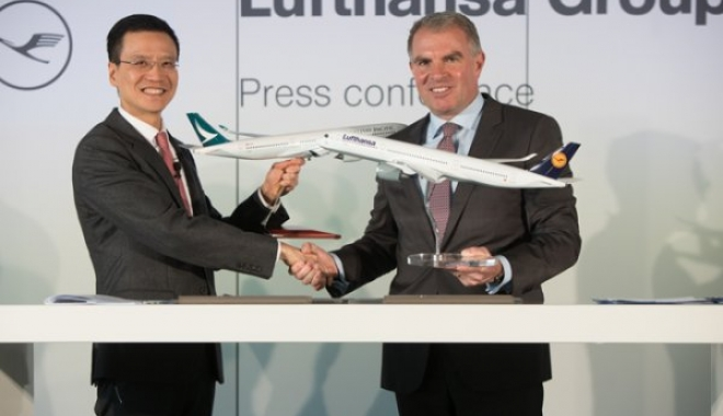 Cathay Pacific Airways Ve Lufthansa Group'tan İşbirliği