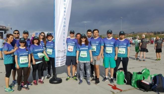 Çelebi Koşucuları Madalyalarını Aldılar.