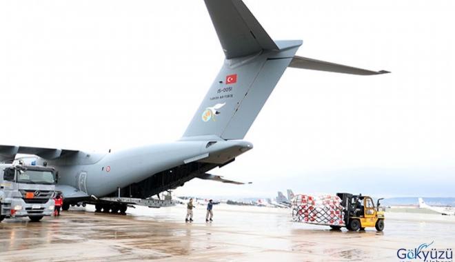 video A400M askeri kargo uçağı ÇİN'e gidiyor