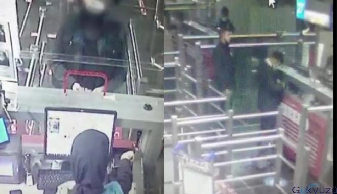 Cinayet zanlısı havalimanında yakalandı(video)