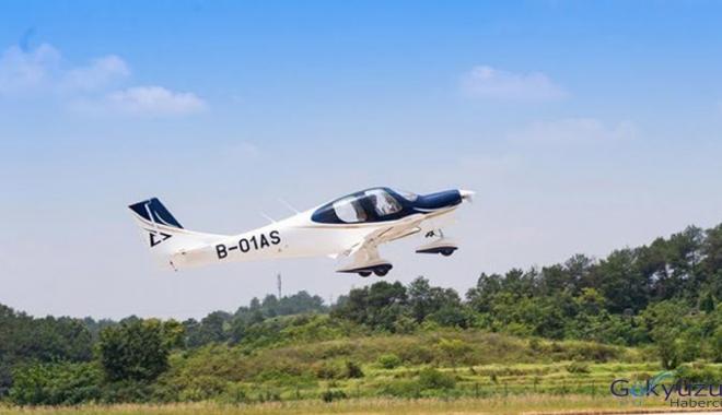 Çinli şirket yerel üretim uçağını test etti