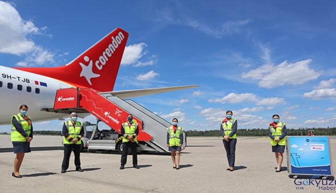 Corendon Airlines Europe Uçuşlara Başladı!