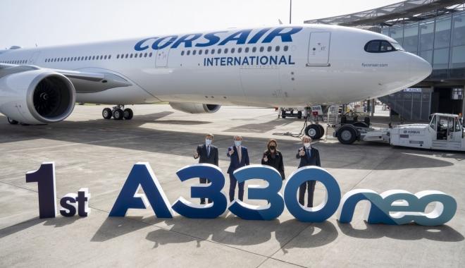 Corsair, ilk A330neo'sunu teslim aldı
