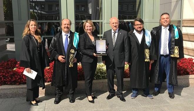 Cumhurbaşkanı Erdoğan'dan İTÜ-Boeing işbirliğine ödül!