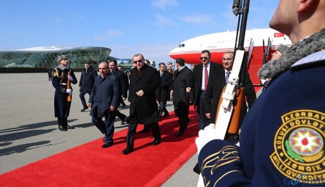 Cumhurbaşkanı Erdoğan'ın Azerbaycan ziyareti