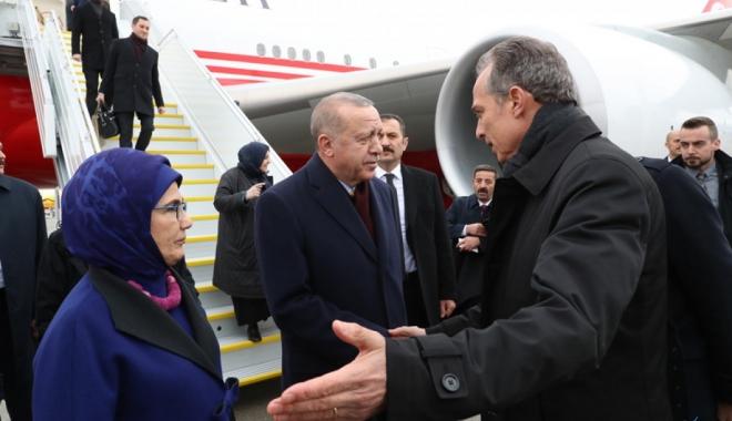 Cumhurbaşkanı Erdoğan İsviçre'de