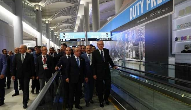 Erdoğan:29 Ekim'de 3.Havalimanının açıyoruz!