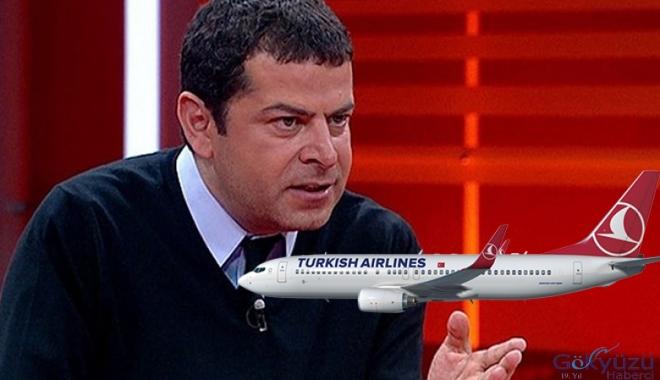 Cüneyt Özdemir'den THY'ye rötar tepkisi!