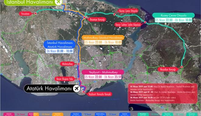 Dikkat! İstanbul'da yollar kapandı