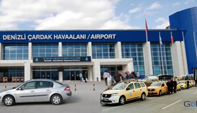 DHMİ Çardak havalimanı için taksi ihalesine çıktı!