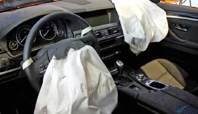 Dikkat !10 milyon hatalı hava yastığı ölüm saçıyor!