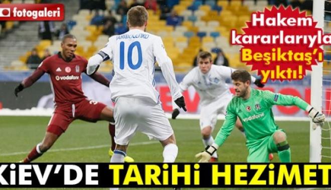 Dinamo Kiev Beşiktaş maçı geniş özeti Ve Golleri