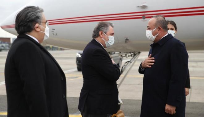 Dışişleri Bakanı Çavuşoğlu,NATO toplantısı için Brüksel'de