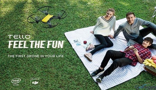 DJI Tello ile drone keyfi çocuklar için eğlenceli ve güvenli