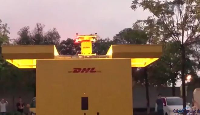 #Drone kargo taşımacılığı Çin'de başladı(video)