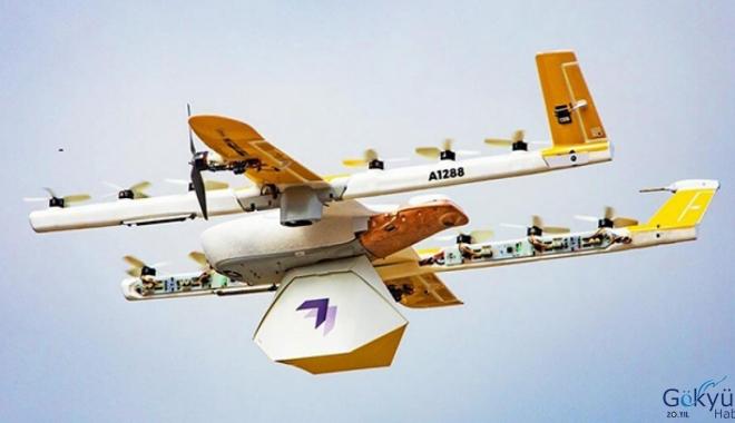 Drone Teslimat Servisi Hizmet Vermeye Başladı