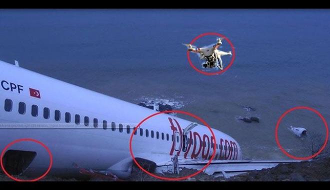 Drone uçuran muhabire ceza