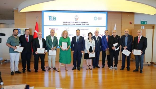 EGD 13. Ekonomi Basını Başarı Ödülleri sahiplerini buldu