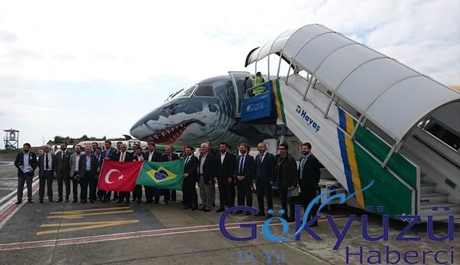 Embraer'in yeni gözdesini Havaş karşıladı!