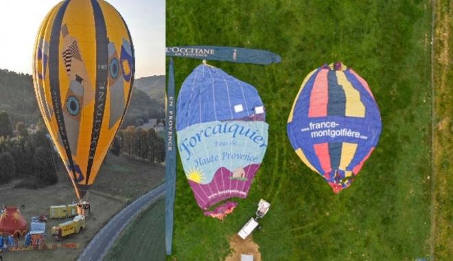 Emekli sıcak hava balonları