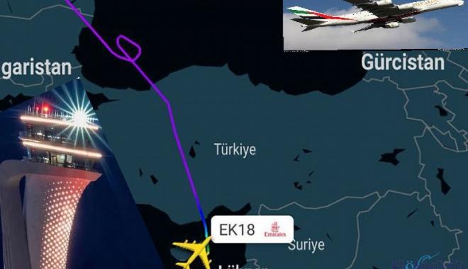 Emirates İstanbul Havalimanı yerine Larnaka'yı tercih etti
