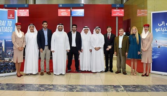 Emirates, Sao Paulo Üzerinden Şili Uçuşlarına Başladı