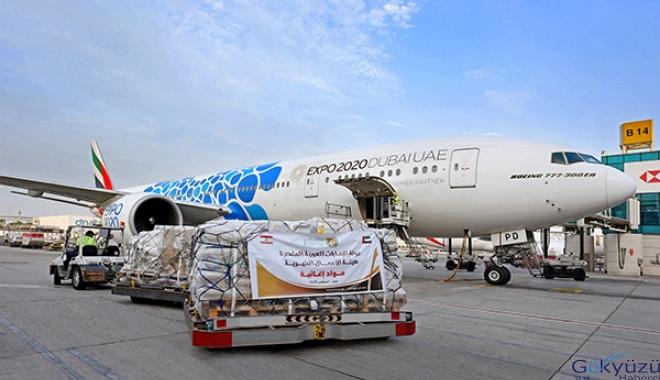 Emirates SkyCargo'dan Lübnan'a acil yardım desteği