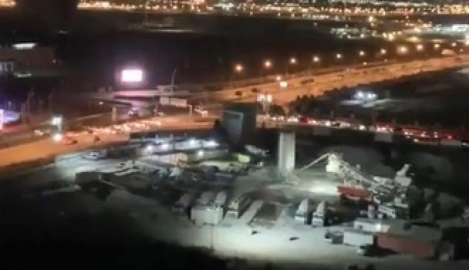 Erbil Uluslararası Havalimanı'na füze saldırısı#video