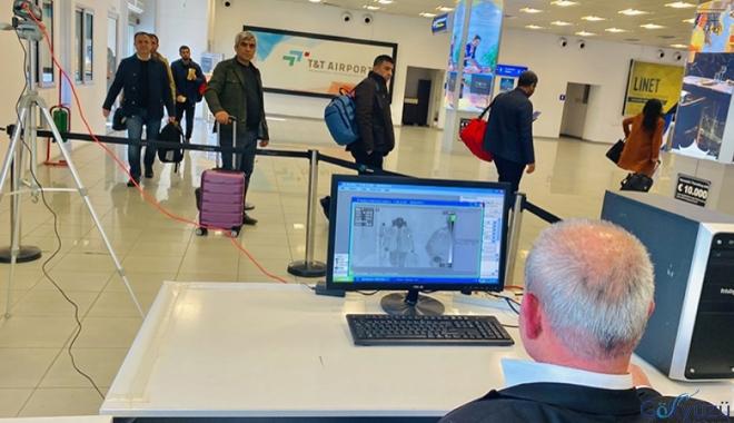 Ercan Havaalanı'nda koronavirüs önlemleri artırıldı!