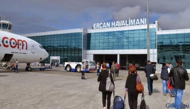 Ercan Havalimanı 2020'nin ilk günü uçuş rekoru kıracak!