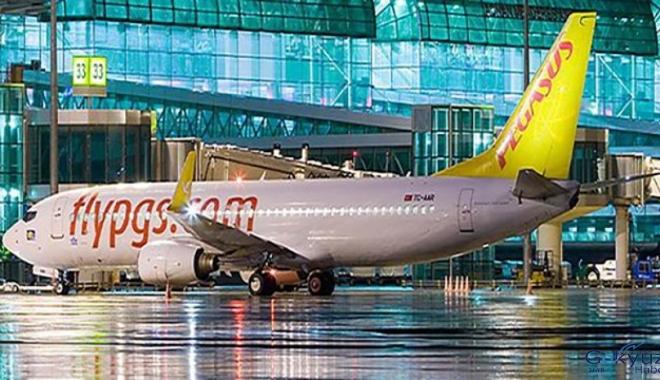 Ercan Havalimanı'ndan Pegasus Havayolları uçuşları başlıyor