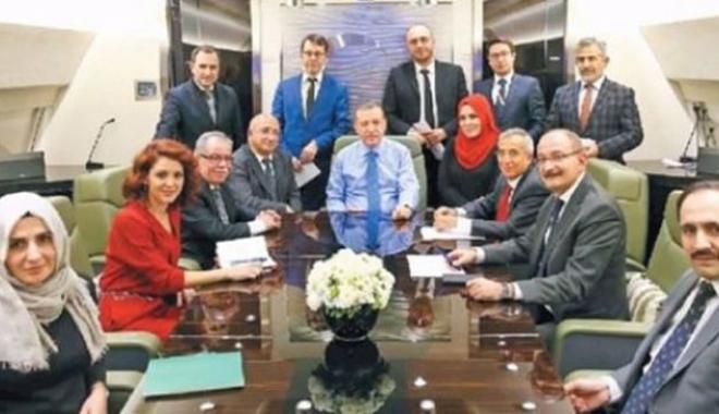 Erdoğan'dan uçakta önemli açıklamalar