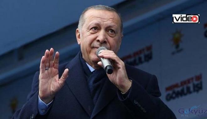 Erdoğan:'Esenboğa Havalimanı'nı biz yaptık'!video